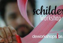 Schilder Workshops / Schilder workshops