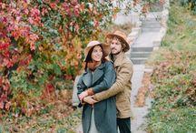 Love story autumn