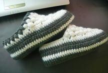 zapatillas de croche