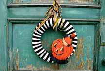 Halloween Florals and Wreaths