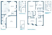 Manor Home Design / Single homes 1860 sq. ft. 3 -4 bedrooms