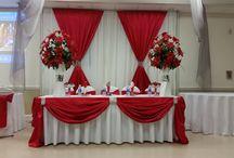 Свадьба красная