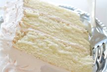 My White Cake Recipes