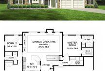 Házak rajzai