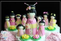 Gorgeous Sugarpaste Toppers / by Gill Ellis