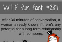 WTF fun facts / by Grace Hicks