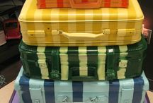 CoLLaGe ◇ SuitCases ◇ / by ♥ iRa ♥