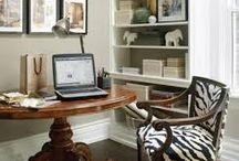 Work Spaces / furniture, styling, decor ideas for your work space or office