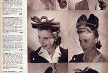 vintage hats & headpieces