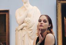 moodboard Camille / Alors donc voila en gros quelques images d'inspi, j'hésite encore un peu entre le musée du Louvre et celu de Rodin, j'attend que tu me dises aussi ton avis ;)
