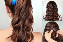 Haarbandfrisur