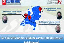 Startende Klusseniers / Vanaf juli 2015 willen we ook via dit bord laten weten welke Klusseniers er gestart zijn.