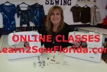 Sewing Videos  / Sewing Video with Cindy from Learn2SewFlorida.com