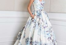 Colourful wedding dresses / blush, baby blue, mint, gold, yellow and every colour of the rainbow