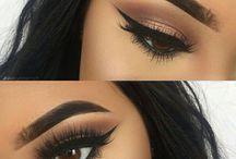 Oči makeup