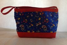 Purses, bags, totes, etc. / These are the purses that I make and sell / by Barb Mayne
