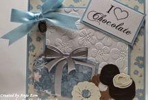Chocolade creatables kaarten