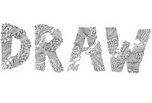 Hand-drawn typography / handmade alphabets
