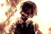 Tokyo ghoul..kaneki kun...