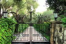 ! ~Inspiration-Gates and Driveways~ ! / gates, driveways, tree lined driveways
