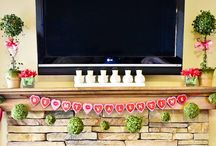 valentines decor / party ideas / by Edith Troyer
