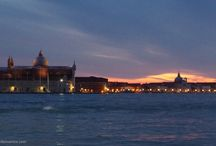 Tramonti a Venezia / saluto al sole a Venezia - sunset in Venice
