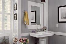 bathroom / #DIYBzz #BiteSizedBzz