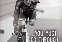 Inspirational bike quotes. / Quotes