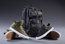 Supra x Rothco / Limited Edition Collaboration between Rothco and Supra. Featuring a limited addition medium transport bag and a duo of classic shoes.