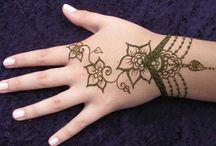 Tattoo + Mehndi ideas