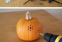Pumpkin carving for the hospital children