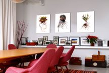 Subject Matter Art + Home / A glimpse of Subject Matter Art in your homes!