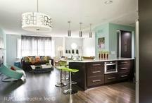 Kitchen Modern Designs / by RJK Construction, Inc