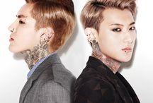 Ładni Chłopcy z tatuażami