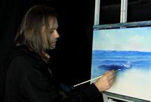schilderen sea