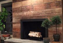 krby, fireplace