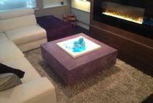 Concrete furniture By Grey Matter Design / GFRC concrete furniture