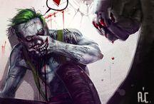Comics: Villain JOKER and HARLEY QUINN