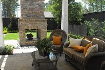 Outdoor living space / by Paula Caldwell