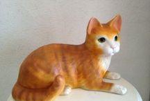 Kedi Heykelleri