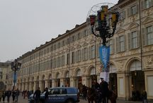 Turin statues