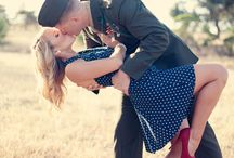 Vintage military couples