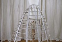 Jupe-Cage (1856-1871) / It's all about the Victorian Hoops and Steel Crinolines.
