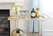 "Home Inspiration: ""Does everyone in LA own a bar cart?"""
