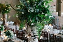 Wooden Wedding Centerpieces