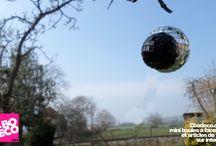 La saga des mini boules à facettes / retrouvez ici la sage des mini boules à facettes par Cbodeco