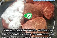 Comment attendrir la viande avec du bicarbonate