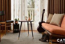 New Collection CATCH curtains 17 new qualities / CATCH introduceert 17 nieuwe kwaliteiten welke compleet aansluiten op de trends van nu!