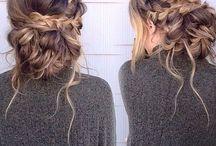 włosy..