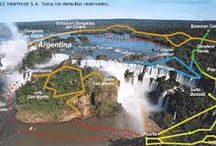 Places to Go-Cntl-So America / Places my  family and / or I have visited in Central & South America.